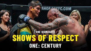 Shows Of Respect | ONE: CENTURY