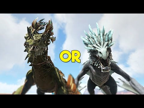 Is a Wyvern or Rock Drake BETTER? - ARK