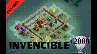 Clash of Clans Taller de constructor 3 -BH3/TH3 Diseño de aldea (La mejor defensa) [-Kîng-]