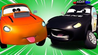 Police car for kids -  Car Patrol and the Bad Racing Car - Car Patrol in Car City !