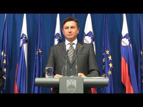 (www.vest.si) Pahor o risanju meje in Sanaderju