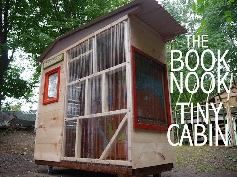 Tiny Indoor Outdoor Cabin Clubhouse Or Tree House The