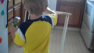 Wes Builds Clothes Drying Rack