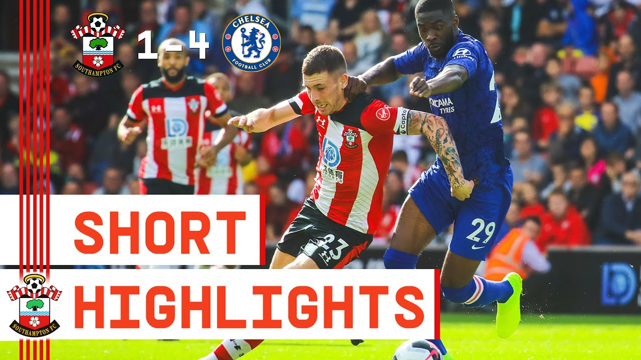 90-SECOND HIGHLIGHTS: Southampton 1-4 Chelsea | Premier League
