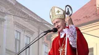 Kazanie bp. Andrzeja Jeża na rozpoczęcie XXXVI Pieszej Pielgrzymki na Jasną Górę