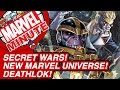 Secret Wars! New Marvel Universe! Deathlok! - Marvel Minute 2015