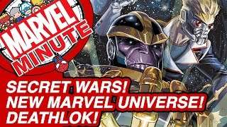 Secret Wars! New Marvel Universe! Deathlok! - Marvel Minute 2015