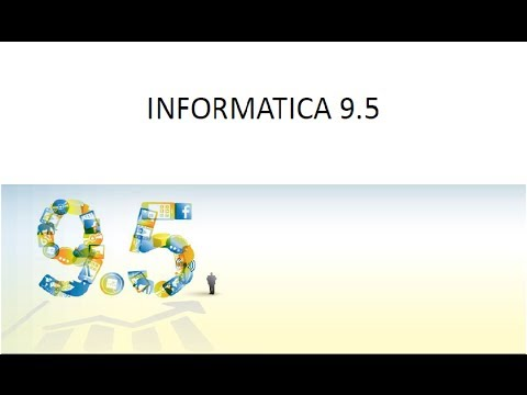Informatica architecture 9 x youtube for Informatica 9 architecture