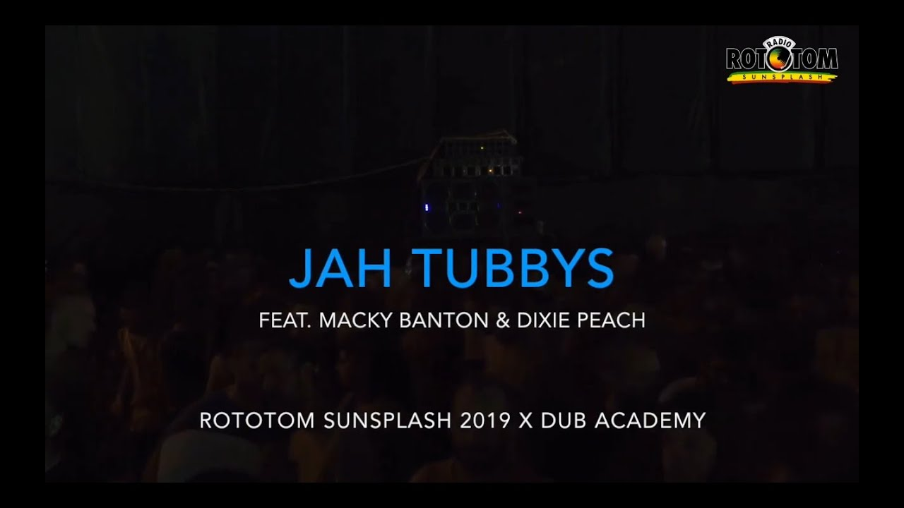 "Jah Tubbys  plays ""Serious Time"" by King Kong & Iron Dubz @ Rototom 2019"
