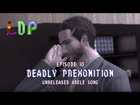 LDP:DP:10 -UNRELEASED ADELE SONG- LETS DRUNK PLAY: DEADLY PREMONITION EPISODE 10