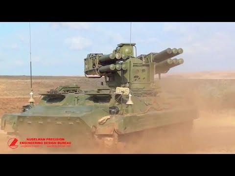 Nudelman Precision - Russia Sosna-R Autonomous Supersonic ADMS Armoured Vehicle [720p]