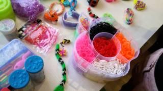 Плетение из резинок: мои резинки, станки, браслеты. ч. 1