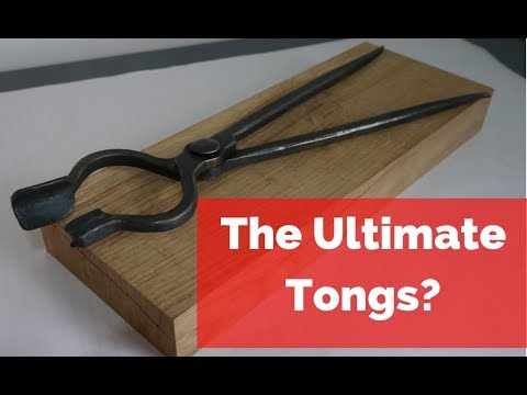 Are these the last tongs you will ever need to make? Forging and testing 'The Ultimate Tongs!'