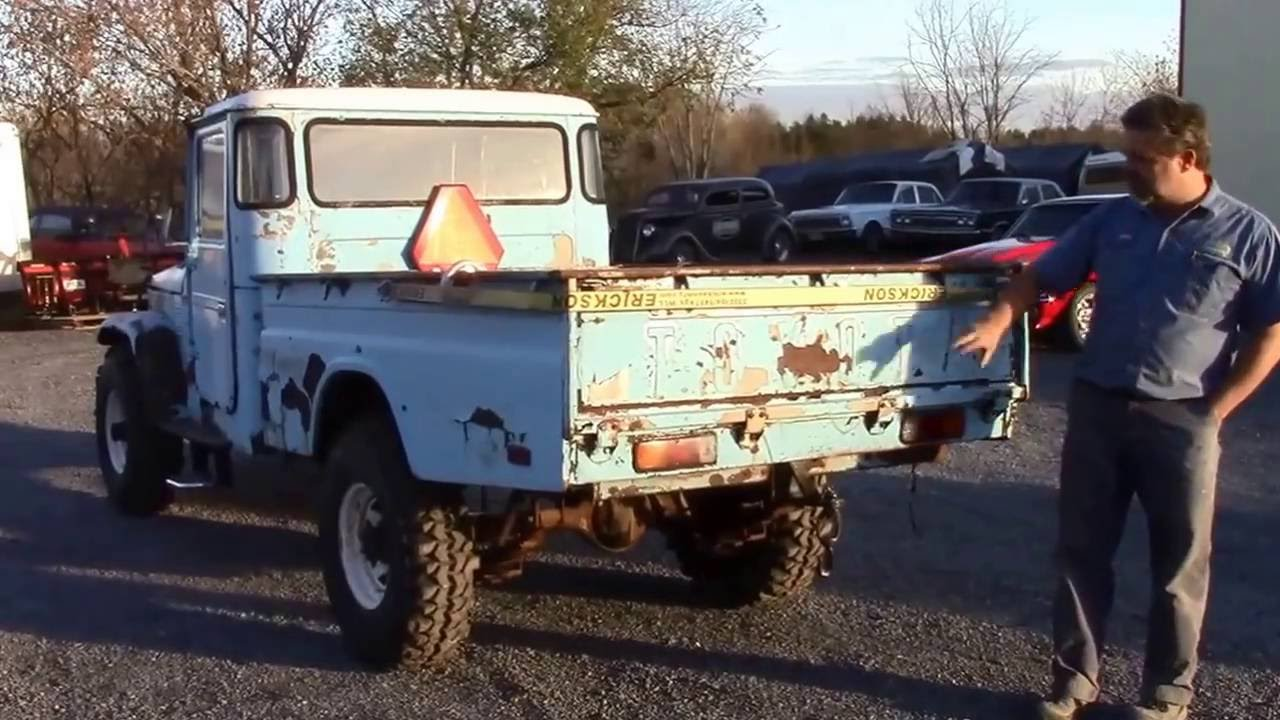 toyota fj45 land cruiser pick up for sale. Black Bedroom Furniture Sets. Home Design Ideas