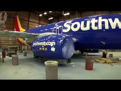 Southwest Airlines New Livery Design