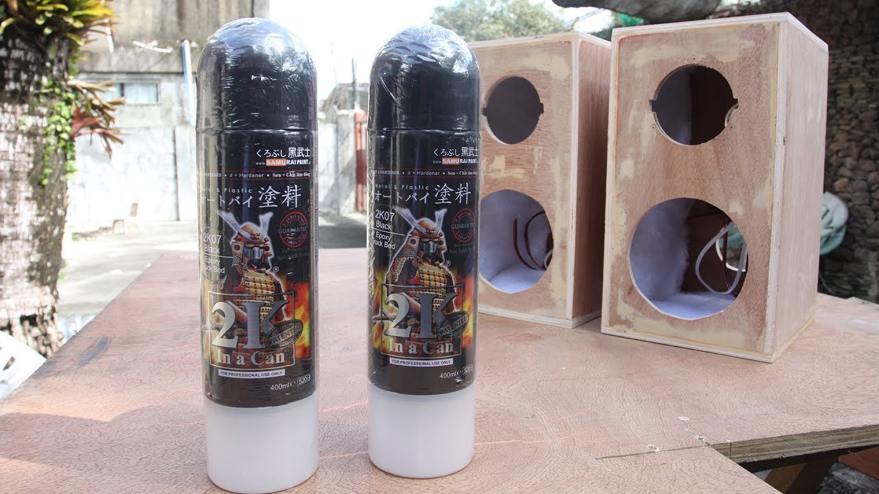 Truck Liner Spray >> Samurai 2K07 Textured Epoxy Truck Bed Liner Spray Paint - YouTube