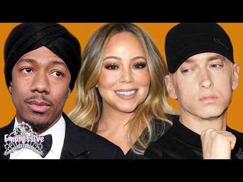History of Eminem&39;s beef with Mariah Carey and Nick Cannon  Nick vs Eminem