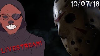 """Dr. Wolfula's """"Friday the 13th: The Game"""" Livestream (10/07/18)"""
