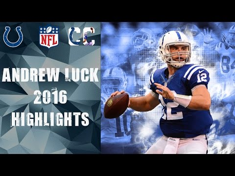 Andrew Luck 2016 Highlights