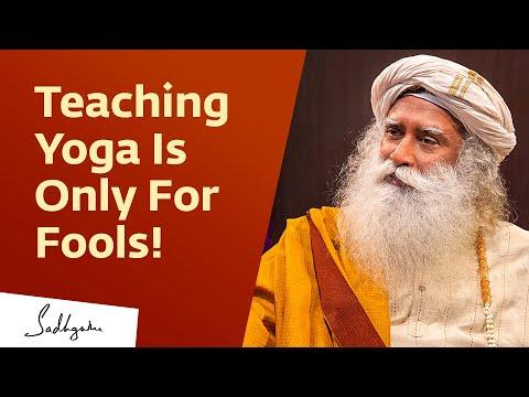 How To Be A Good Yoga Teacher | Sadhguru | Isha Hatha Yoga