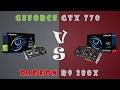 GeForce GTX 770 vs Radeon R9 280X Detailed Comparison (1080P; 1440P)