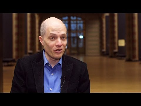 Alain de Botton guides you round his Art is Therapy show
