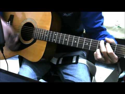 Kabiraa - unplugged acoustic guitar lesson chords cover - yeh jawani hai deewani