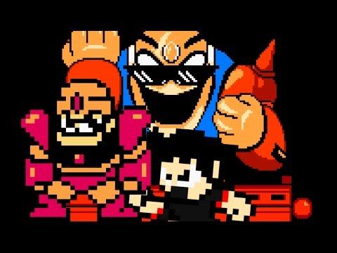 Mega Man 8-Bit Deathmatch V5b - Boss 2: Guts Dozer + Cutscene