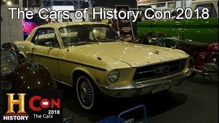 The Cars of History Con 2018