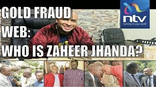 Zaheer Jhanda, the man at the centre of the gold fraud scheme