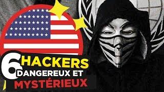 6 HACKERS les plus DANGEREUX AU MONDE