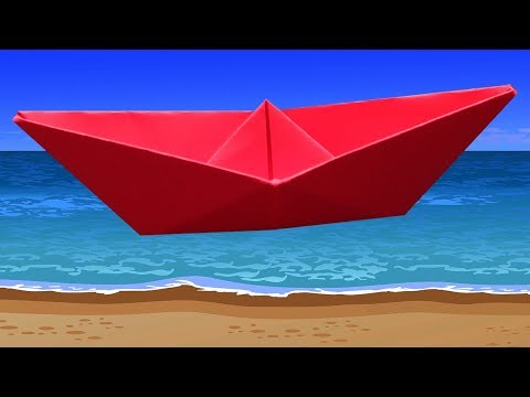 How To Make A Paper Boat Easy And Fast Instruction Simple To Follow