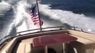 New 2012 Zeelander 44, sea trial off Fort Lauderdale