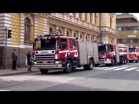 Turun VPK n paraati ja kenttähartaus / Turku Volunteer Fire Brigade parade and field devotional 31 8