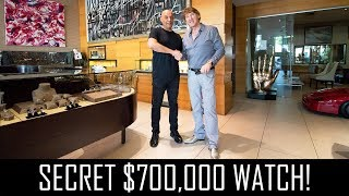Yosi Dina's secret $700,000 watch! thumbnail