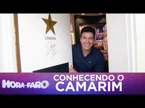 Rodrigo Faro mostra seu camarim pela primeira vez