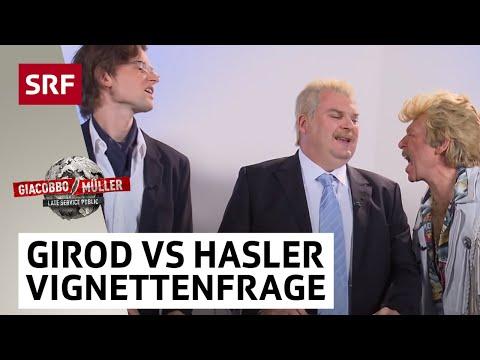 Girod vs Hasler in der Vignettenfrage  Giacobbo  Müller