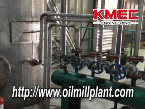 Oil refining plant is 20ton/day semi-continuous deodorization.