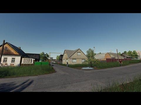 Farming Simulator19. Карта Ягодное 2.4. Тест-кооп.
