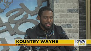 Comedian Kountry Wayne at the Funny Bone this weekend