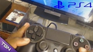 Using My Playstation Display With Playstation 4.