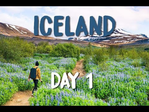 ICELAND VLOG DAY ONE : PICKING UP OUR COZY CAMPER! GLYMUR | ARNARSTAPI