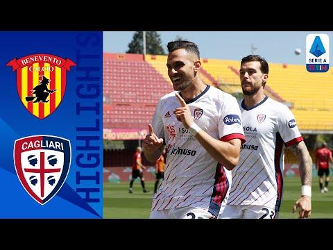 Benevento 1-3 Cagliari   Il Cagliari sbanca Benevento   Serie A TIM