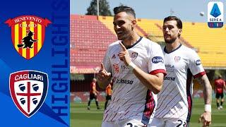 Benevento 1-3 Cagliari | Il Cagliari sbanca Benevento | Serie A TIM