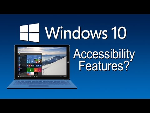 Windows 10 Accessibility Features - The Blind Life