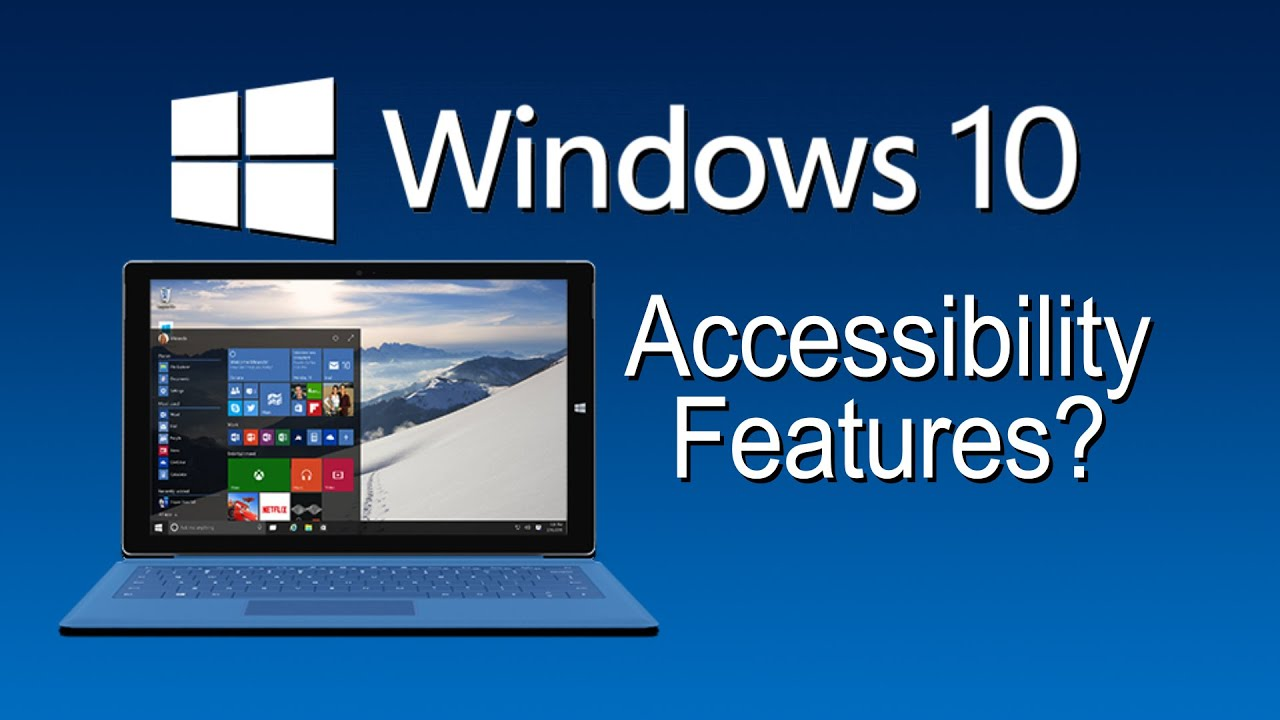 how to stop accessibility on windows