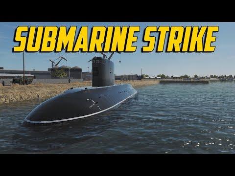 DCS F/A-18C - Submarine Strike
