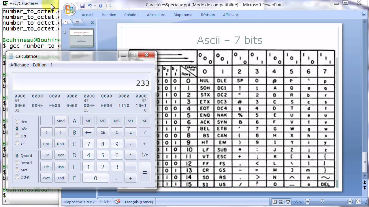Caract res sp ciaux encodage accents ascii iso latin for Table utf8