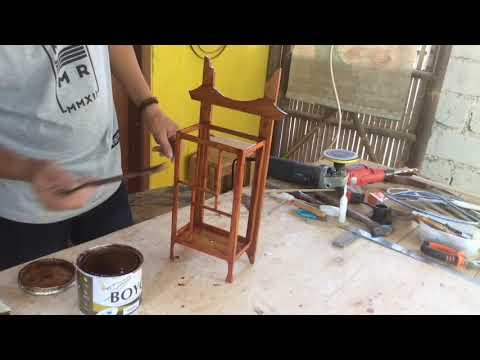 Kerajinan dari Bambu || Membuat Lampu Dinding Minimalis