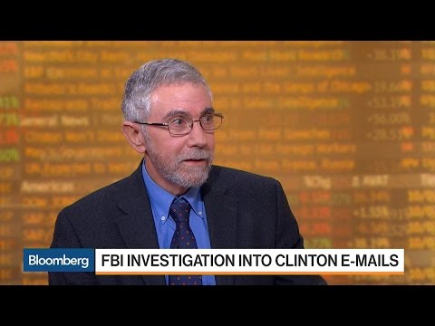 Paul Krugman: FBI's Handling of Clinton Emails Is 'Absolutely Bonkers'